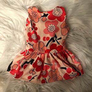 Cherry Blossom Dog Dress